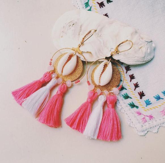 Boucles d'oreilles Orenji