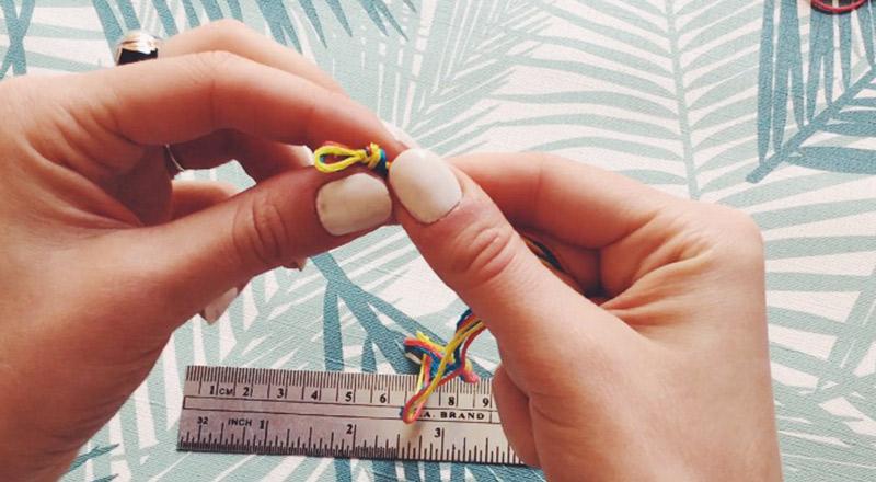 diy : réaliser un noeud boucle