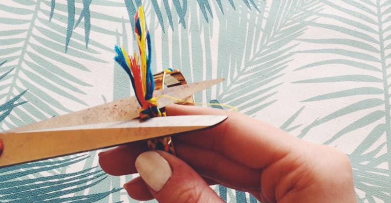 diy : couper les noeuds