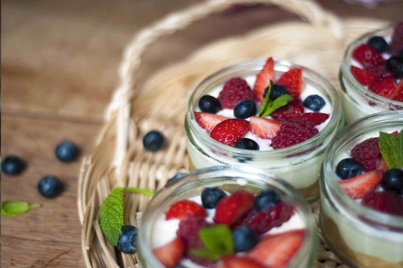 Recette estivale tiramisu aux fruits rouges