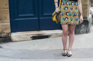 DIY couture : jupe à taille élastique en wax