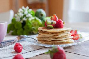 Pancakes sans sucres