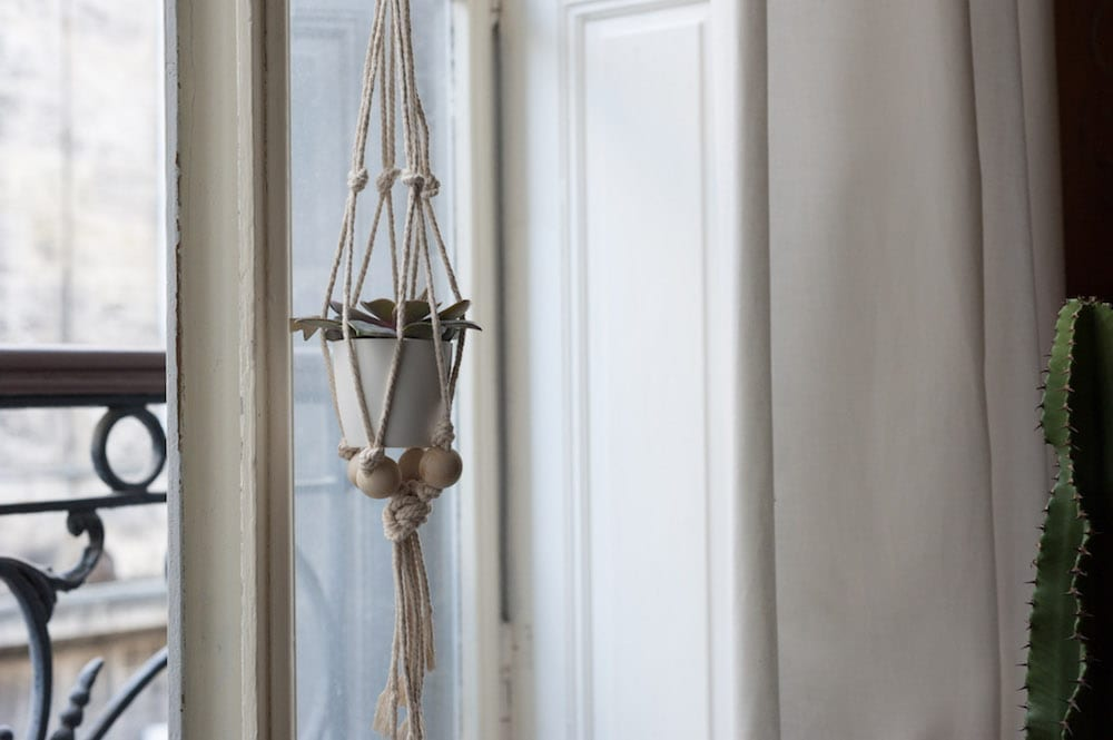 diy suspension macramé