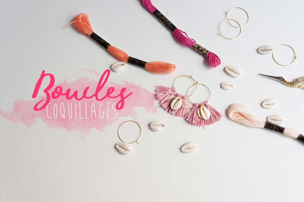 boucles coquillages