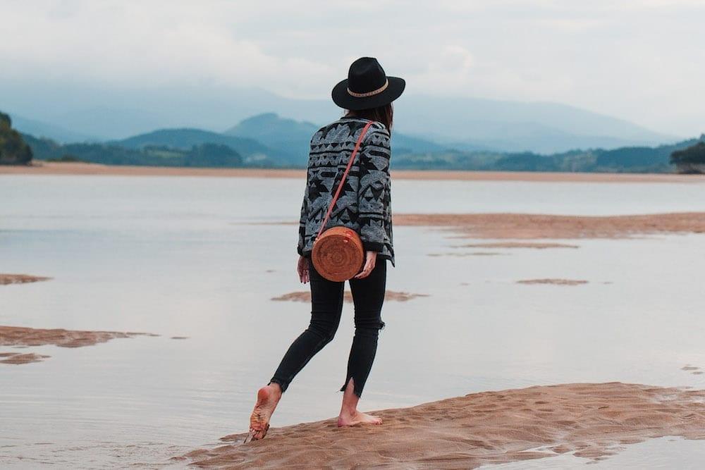 couture veste ethnique lainage