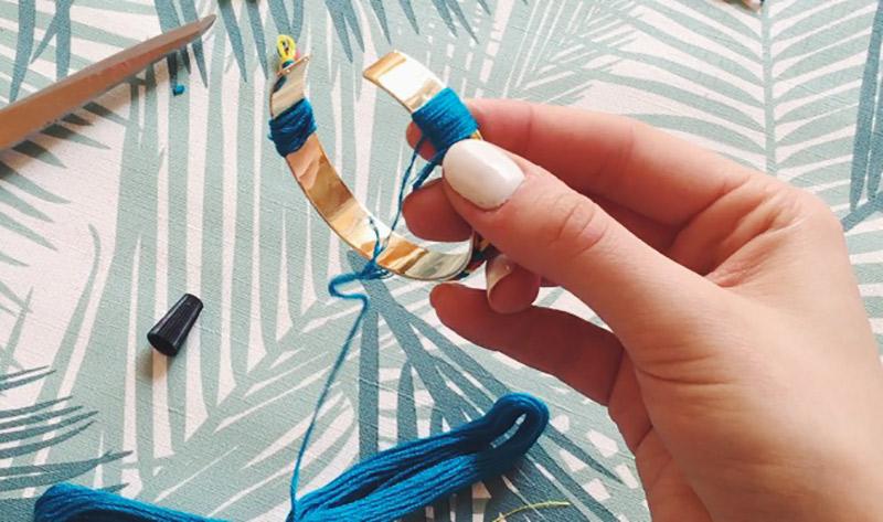diy : enrouler du fil