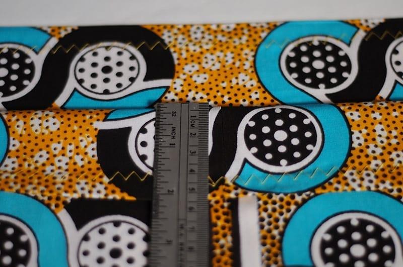 Tutoriel couture : créer une jupe à taille élastique en wax