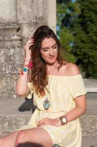 DIY Coudre une robe off-shoulders