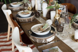 Une jolie table de fêtes avec Bordeaux S.O Good et Zodio