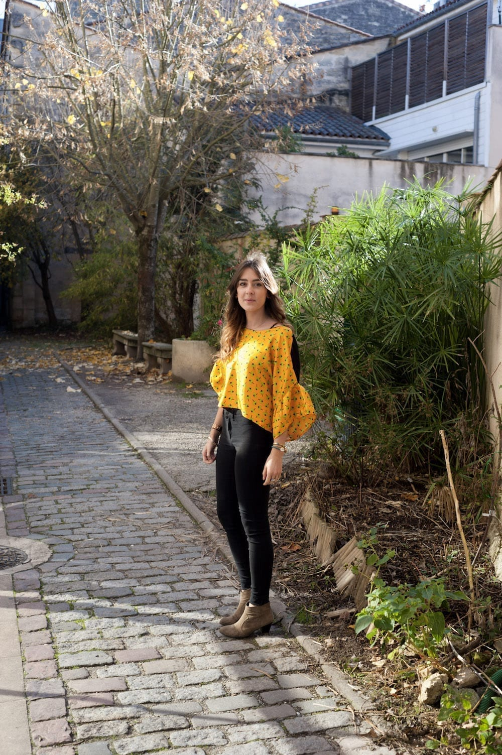 couture crop top soie