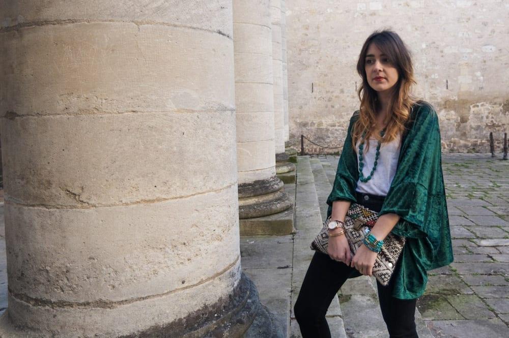DIY couture : coudre un kimono en velours