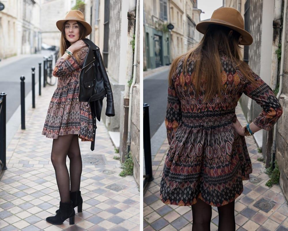hack blouse marthe robe ethnique