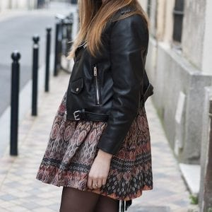 Couture : hack de la blouse Marthe version robe ethnique