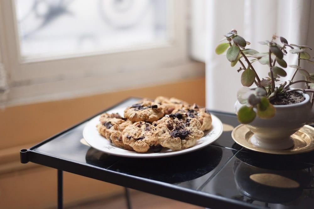 recette cookies sans sucres