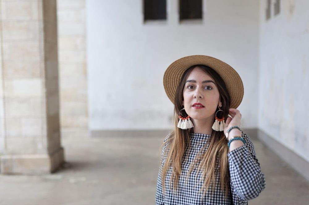 diy boucles d'oreilles pompons
