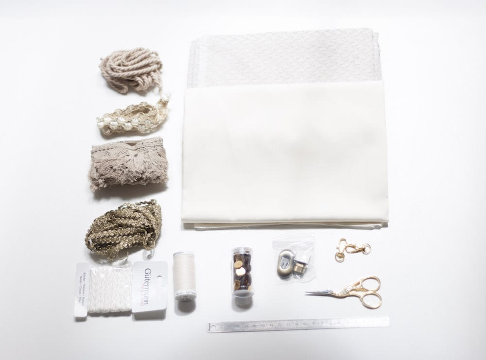 matériel panier pompons