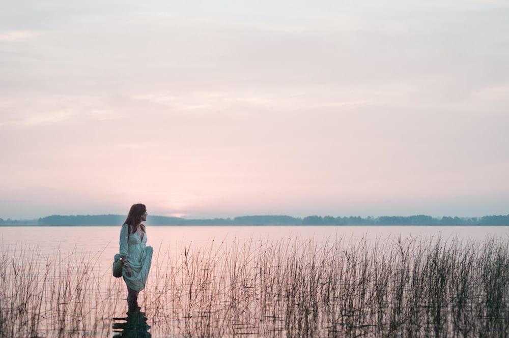 robe bohème zaful - lac de lacanau