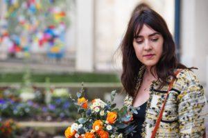 Couture : veste droite et col rond style Chanel