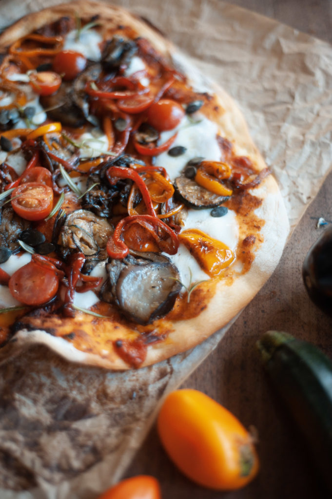 recette pizza healthy
