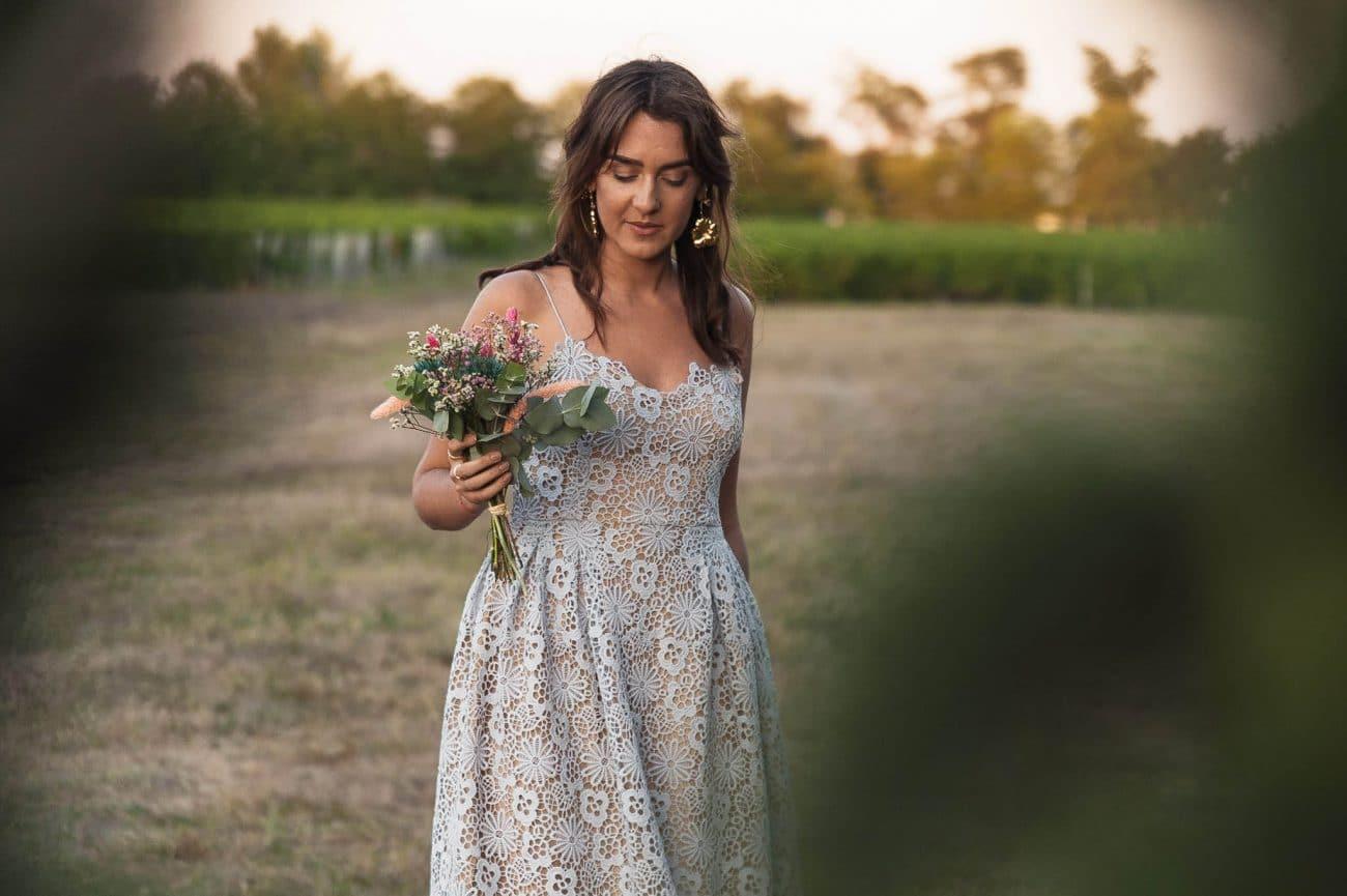 coudre une robe en guipure pour un mariage
