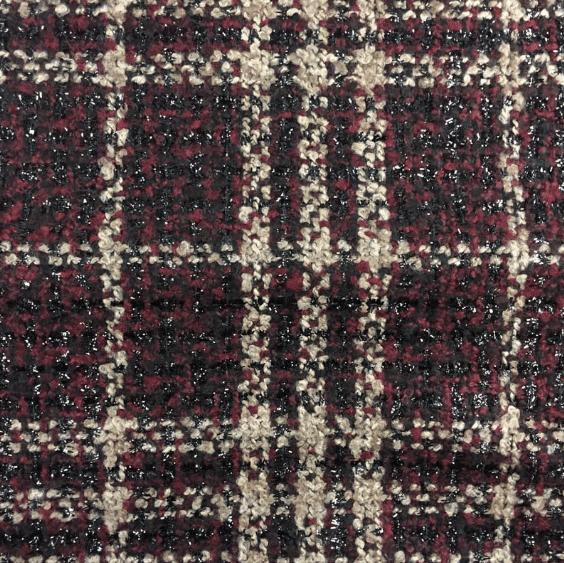 tweed à carreaux