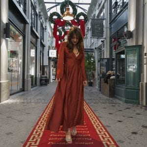 Coudre la robe Magnolia de Deer and Doe façon soirée