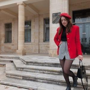 Coudre la jupe Sister Mini de Vanessa Pouzet - { Hack taille}