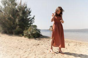 Coudre une robe de demoiselle d'honneur avec Artesane