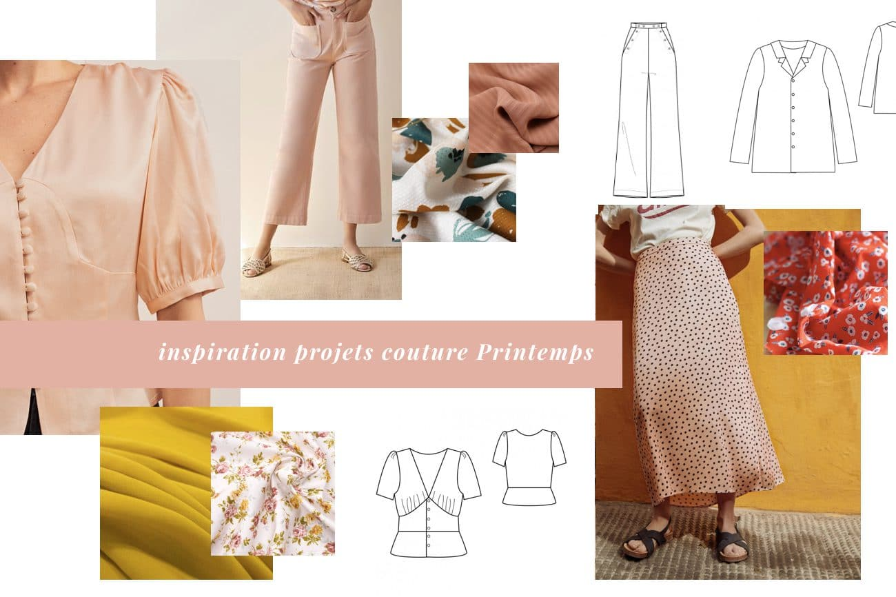 inspirations projets couture printemps 2019