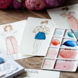 Défi garde-robe Artesane : mes projets couture