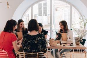 Atelier couture chouchou & barrette – Maison Bleue Soin de Soi