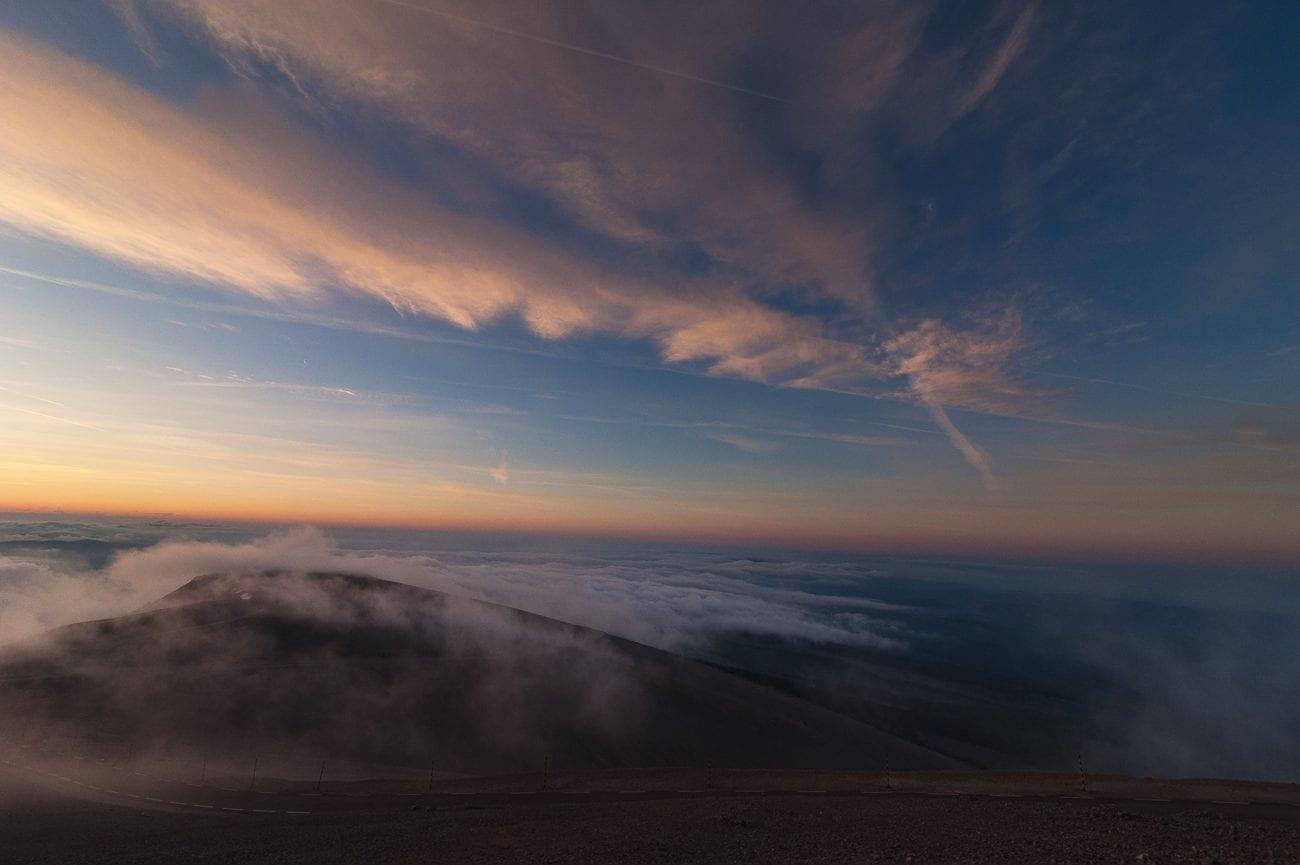 Lever du soleil au Mont Ventoux