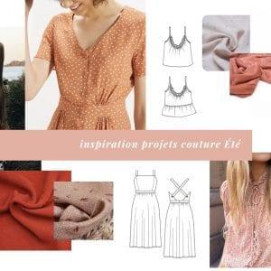 12 inspirations projets couture pour l'été 2019