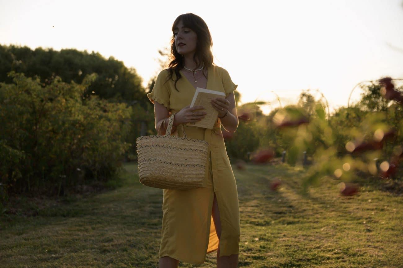 Coudre la blouse Alegria de Slow Sunday version robe