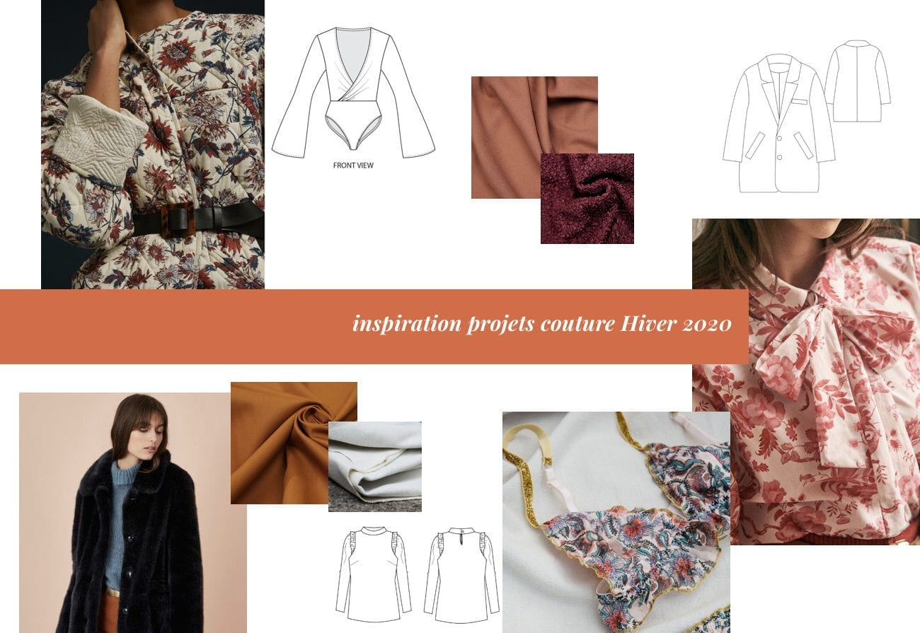 Inspirations projets couture hiver 2020