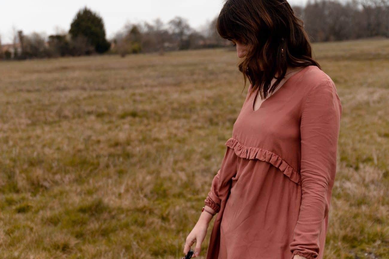 Coudre la robe Zephir d'Atelier Scämmit – Inspiration Sézane