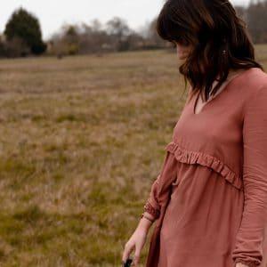 Coudre la robe Zephir d'Atelier Scämmit - Inspiration Sézane
