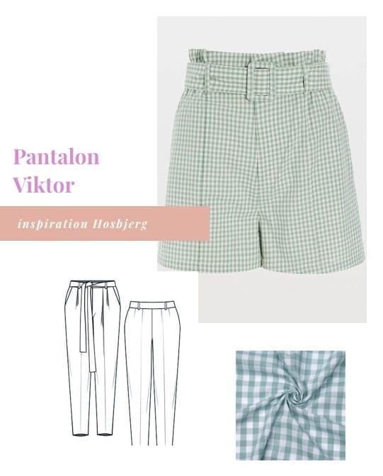 Coudre un pantalon Viktor de Lenaline Patterns version short