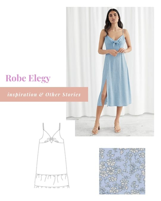 Inspirations pour coudre la robe Elegy de Mimoi Patterns