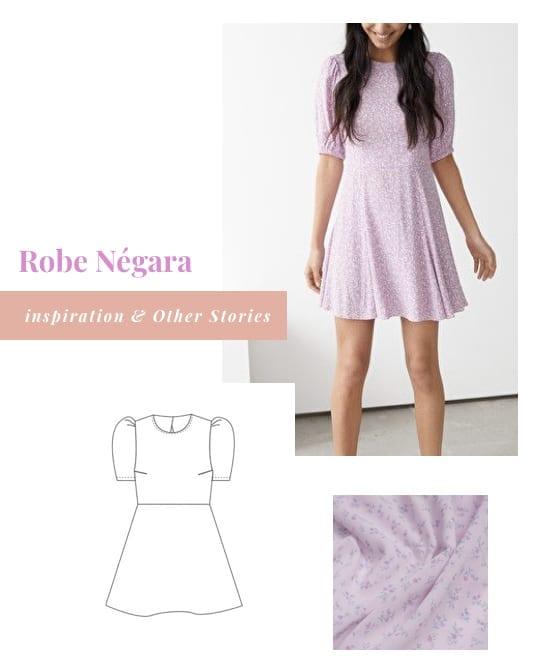 Inspiration pour coudre la robe Negara de Pretty Mercerie