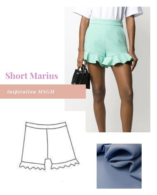 Inspirations pour coudre le short Marius de Ma Petite Fabrique