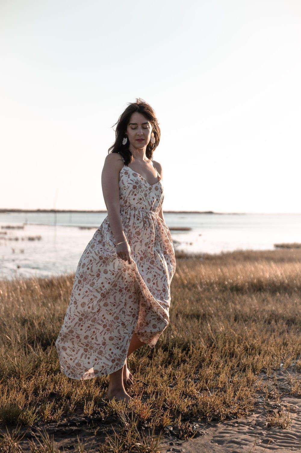 Coudre la robe Cassandre de Clématisse Patterns