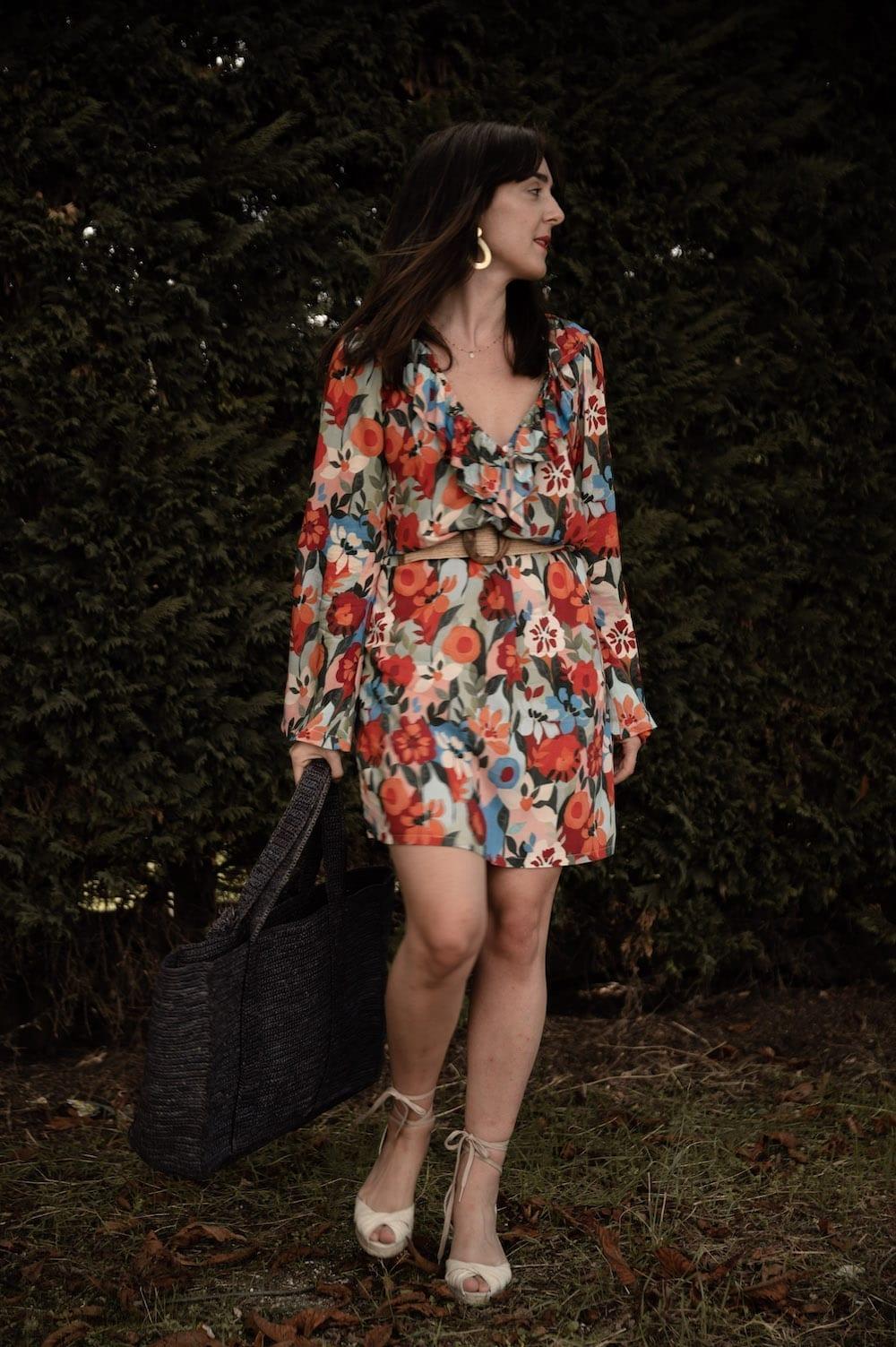 Coudre la robe Boréale d'Atelier 8 Avril