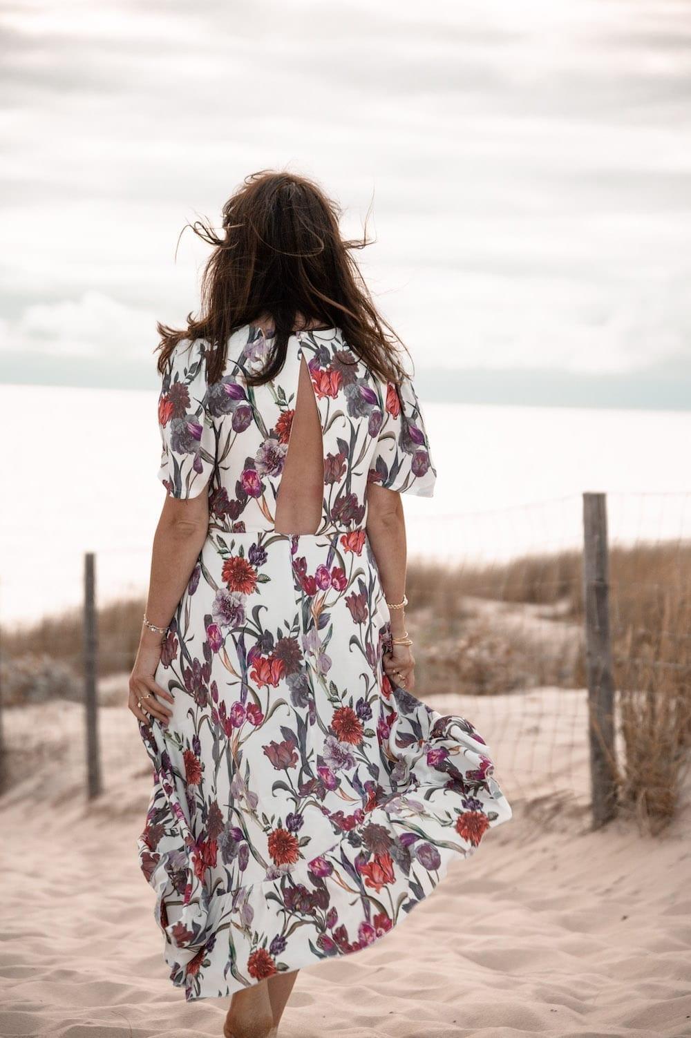 Coudre la robe Negara de Pretty Mercerie