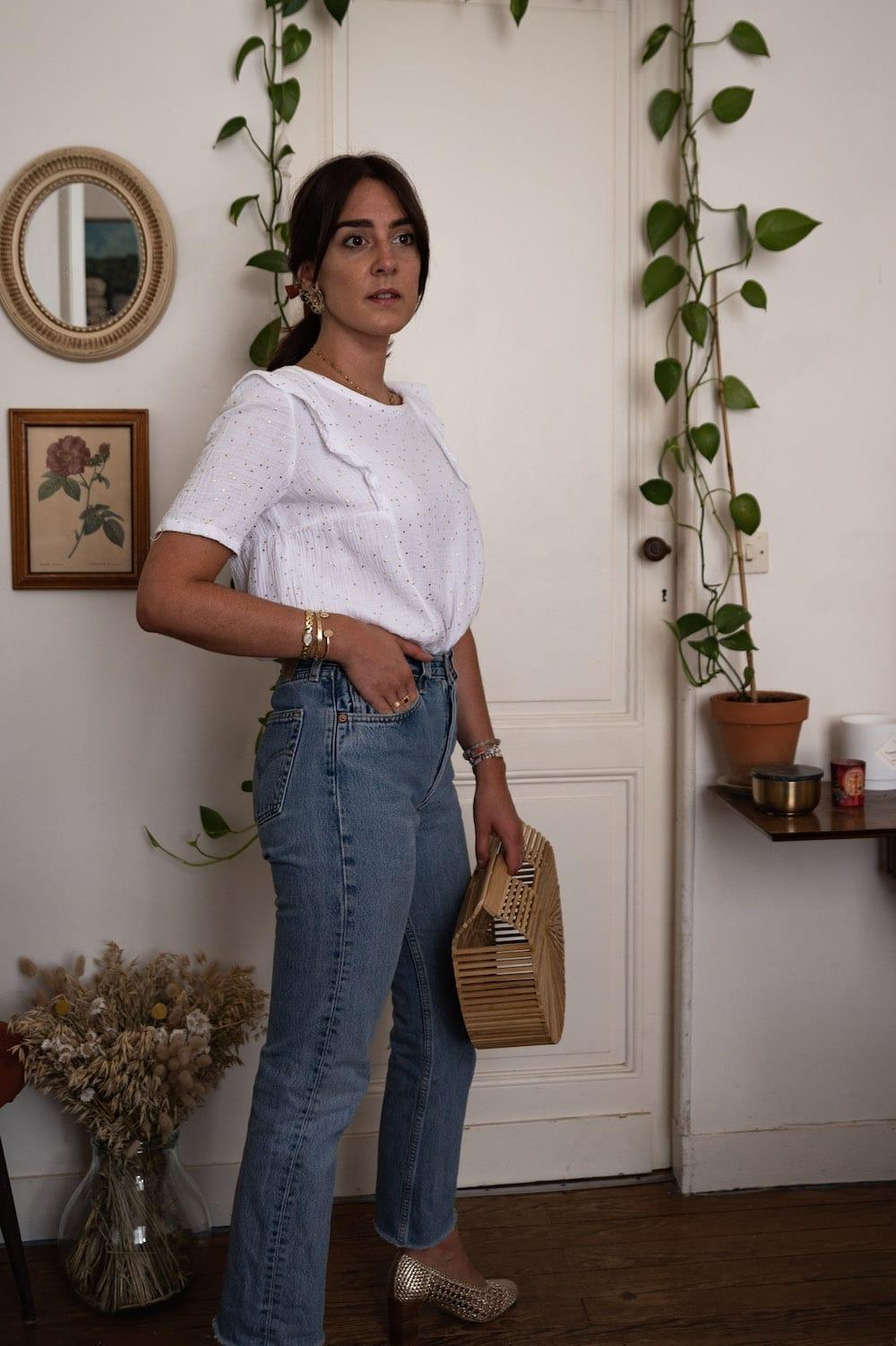 Look 10 : Blouse Aurore de Ma Petite Garde Robe