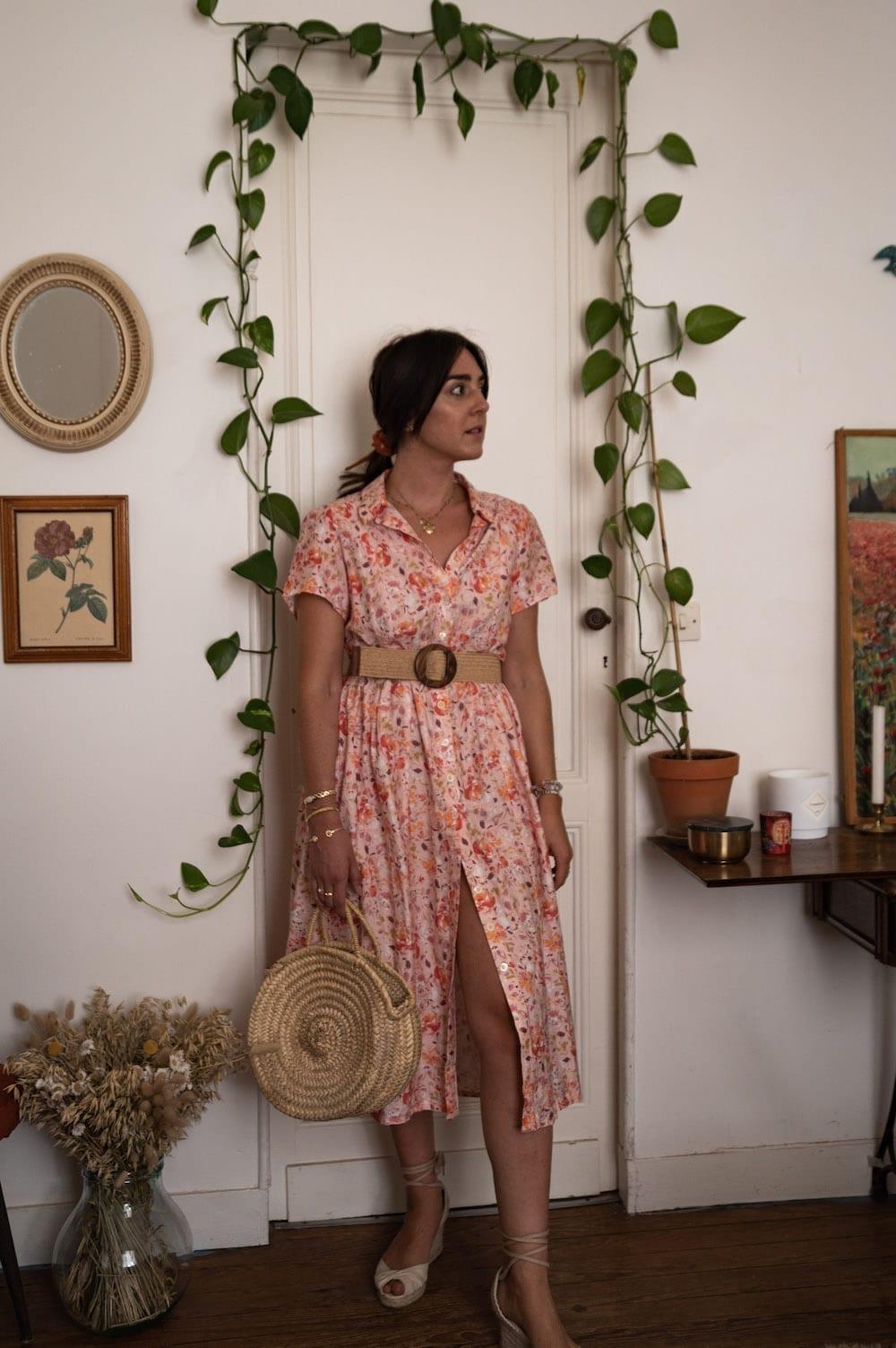 Look 3 : Robe Saraste de Named Clothing