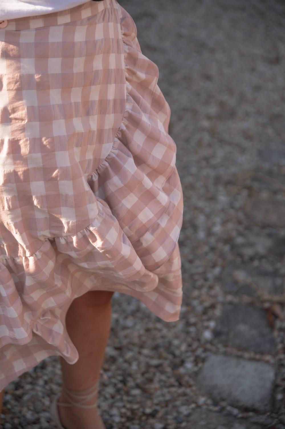 Coudre la jupe Sixtine de Coralie Bijasson