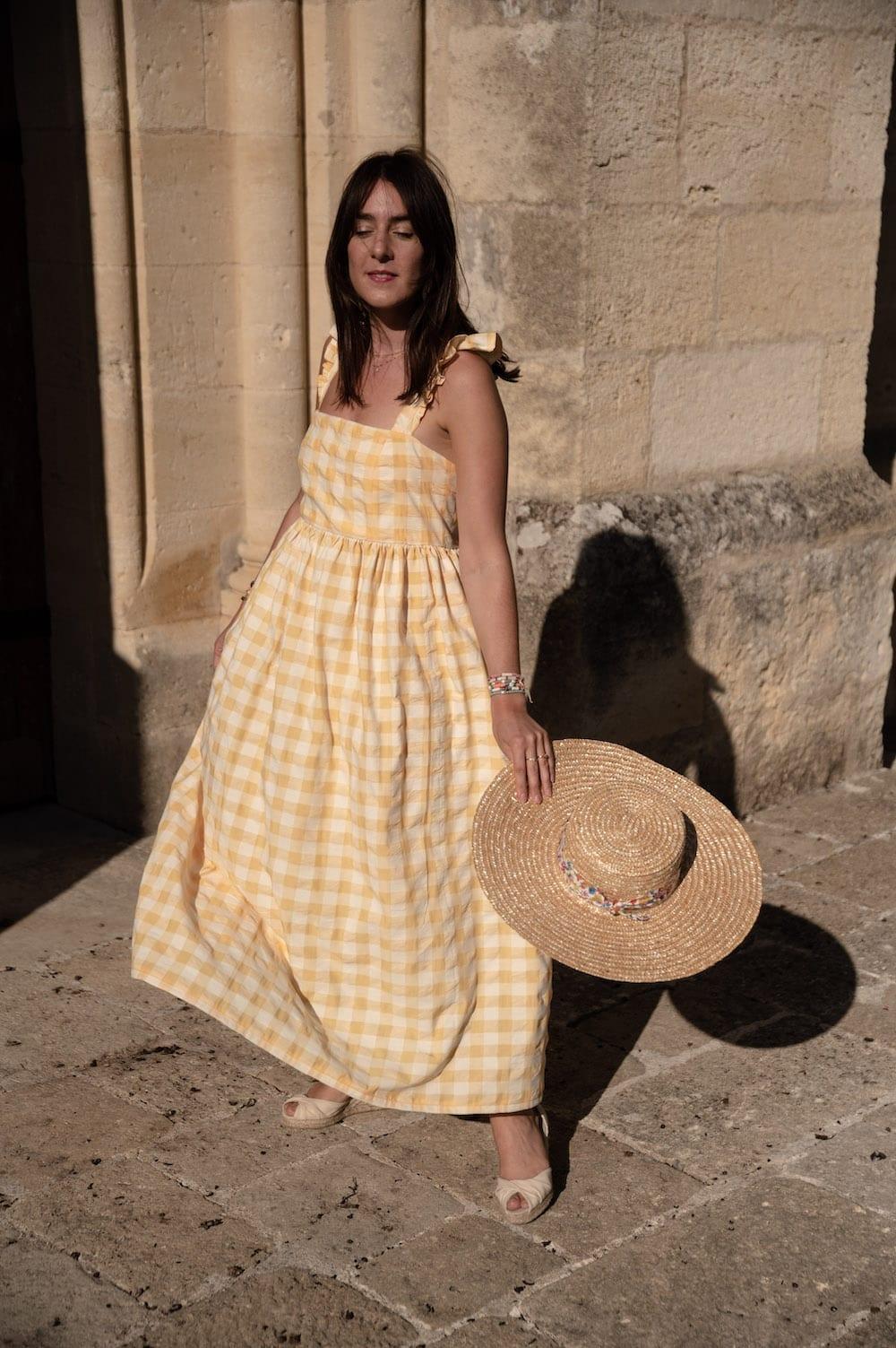 Coudre la robe Semis de Delphine & Morissette