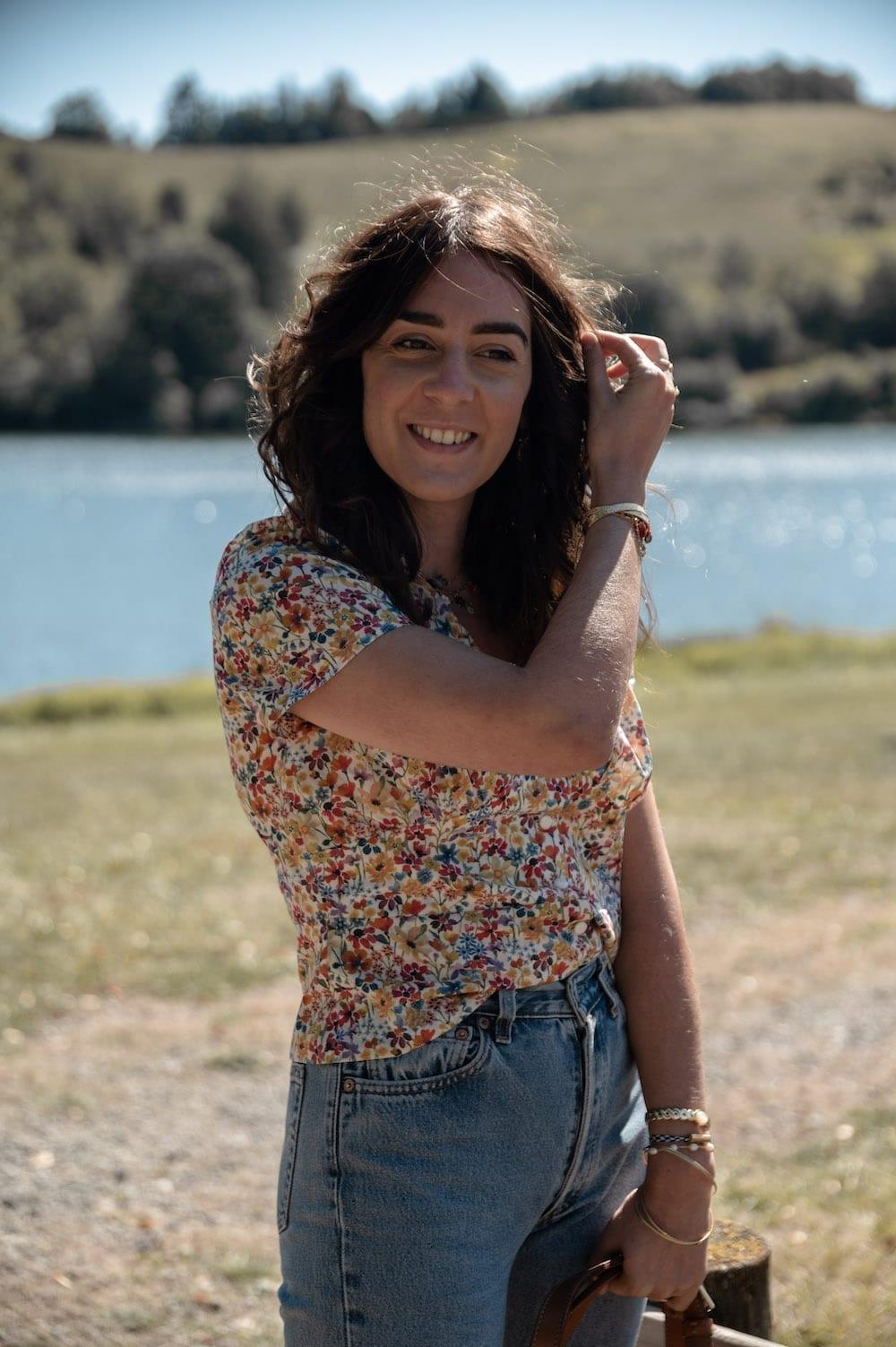 Coudre la blouse Jeanne de République du Chiffon dans le tissu Liberty Dreams of Summer