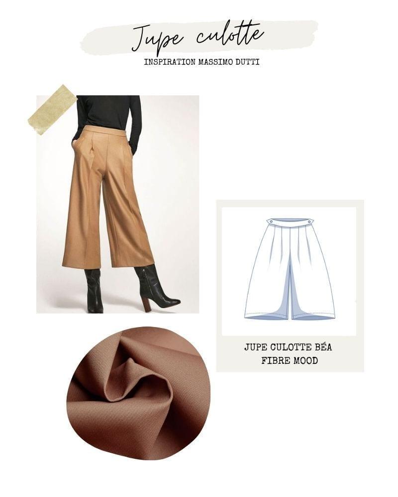 Jupe culotte - Béa de Fibre Mood